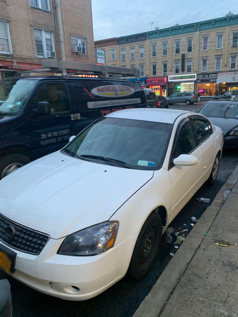 2006 Nissan Altima | Maspeth, NY, Satin White Pearl (White), Front Wheel