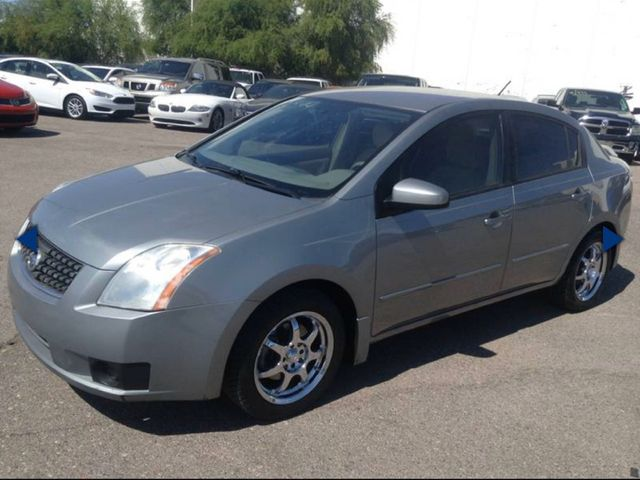 2007 Nissan Sentra, Magnetic Gray (Gray), Front Wheel