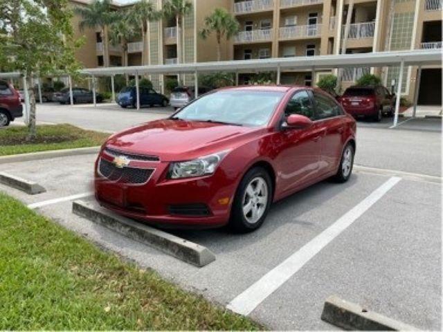 2014 Chevrolet Cruze 1LT Auto, Crystal Red Tintcoat (Red & Orange), Front Wheel