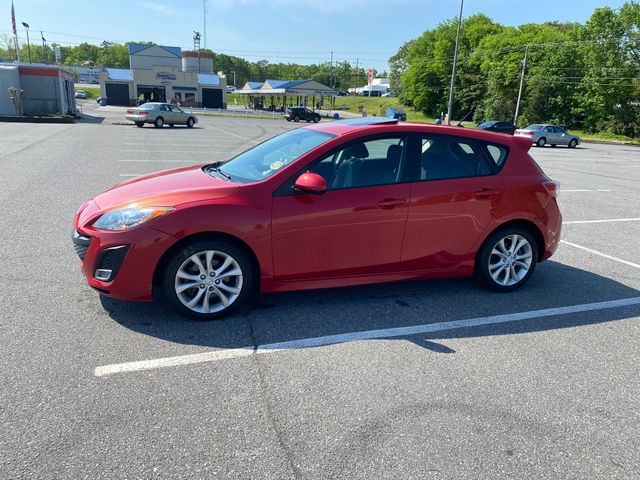 2010 Mazda Mazda3 s Sport, Velocity Red Mica (Red & Orange), Front Wheel