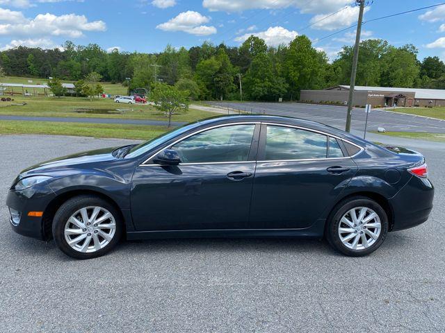 2012 Mazda Mazda6 i Sport, Ebony Black (Black), Front Wheel