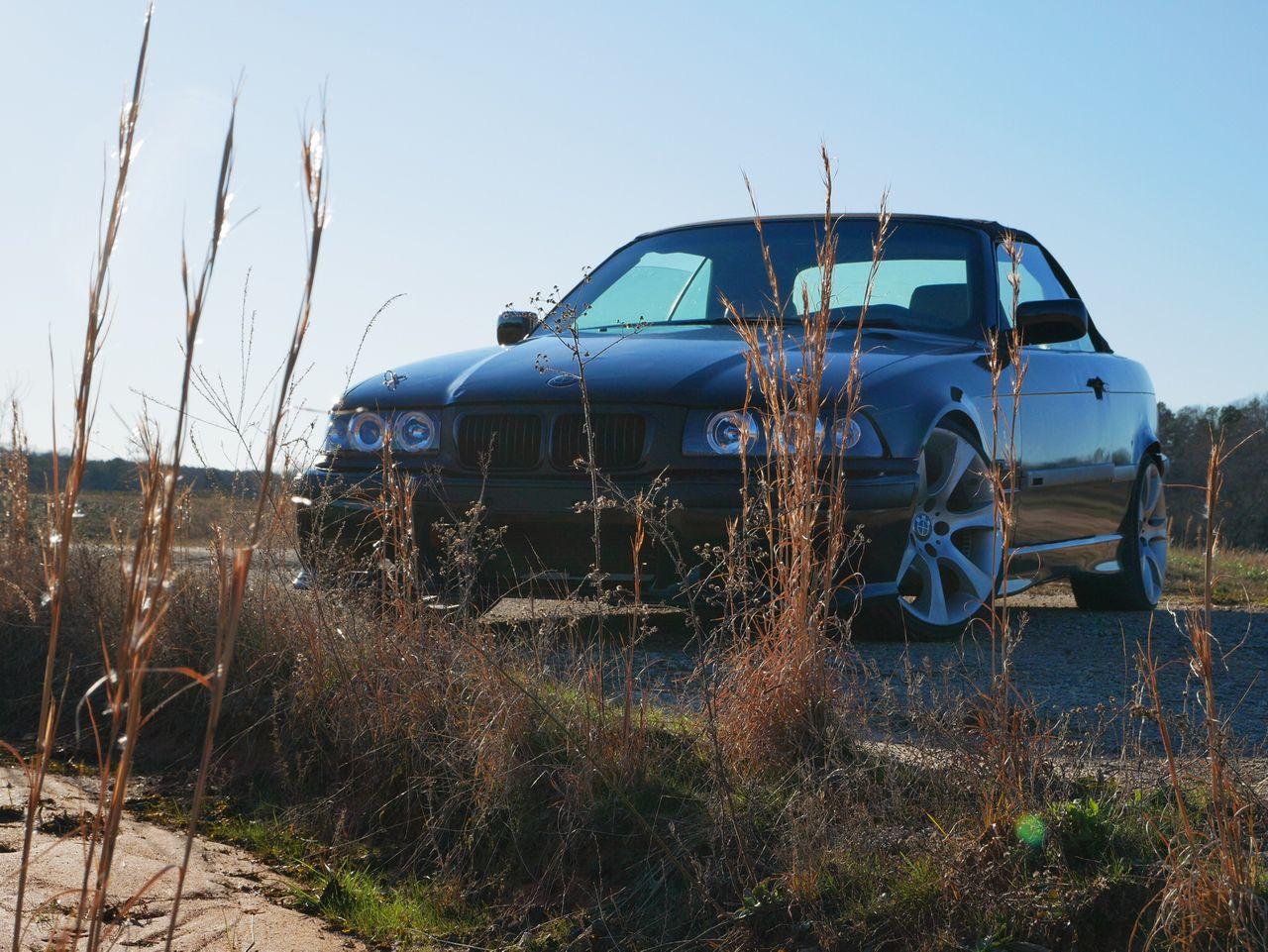 1996 BMW 3 Series 318i | Anderson, SC, Bright Red (Red & Orange), Rear Wheel