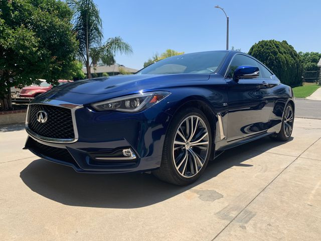 2018 INFINITI Q60 3.0T Sport, Iridium Blue (Blue), All Wheel