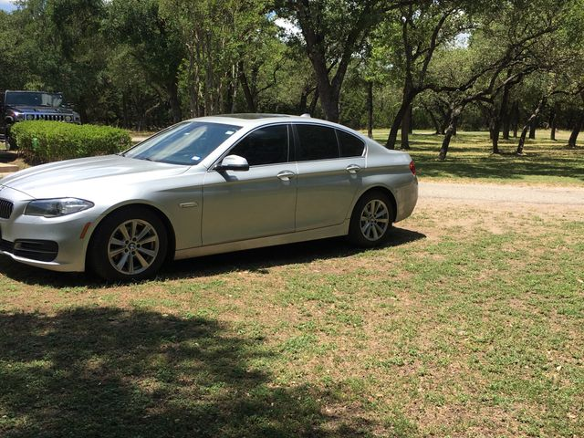 2014 BMW 5 Series 528i xDrive, Glacier Silver Metallic (Silver), All Wheel