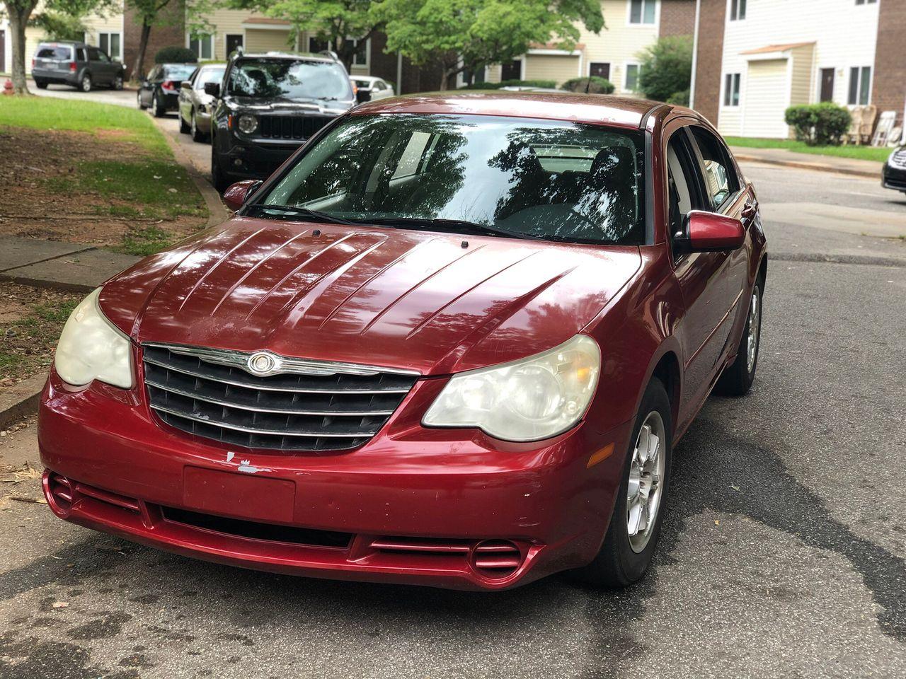 2007 Chrysler Sebring Base | Hollywood, FL, Inferno Red Crystal Pearlcoat (Red & Orange), Front Wheel