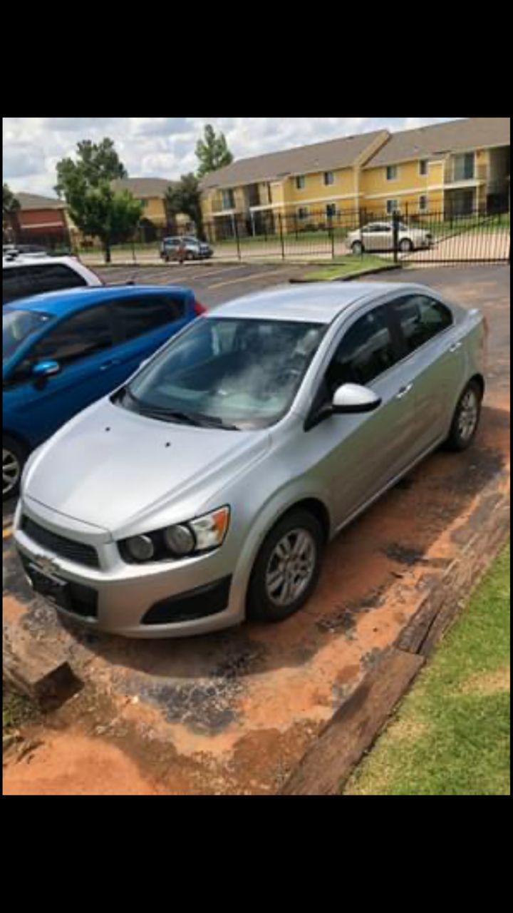 2014 Chevrolet Sonic LT Auto | Oklahoma City, OK, Silver Ice Metallic (Silver), Front Wheel