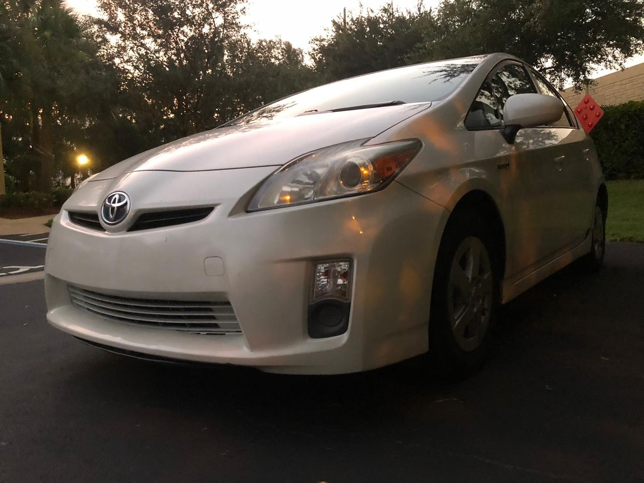 2011 Toyota Prius Two | Fort Myers, FL, Blizzard Pearl (White), Front Wheel