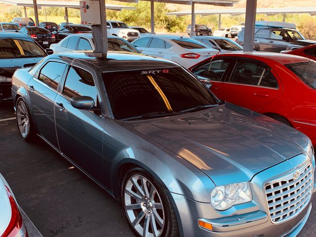 2006 Chrysler 300 SRT-8, Silver Steel Metallic Clearcoat (Silver), Rear Wheel