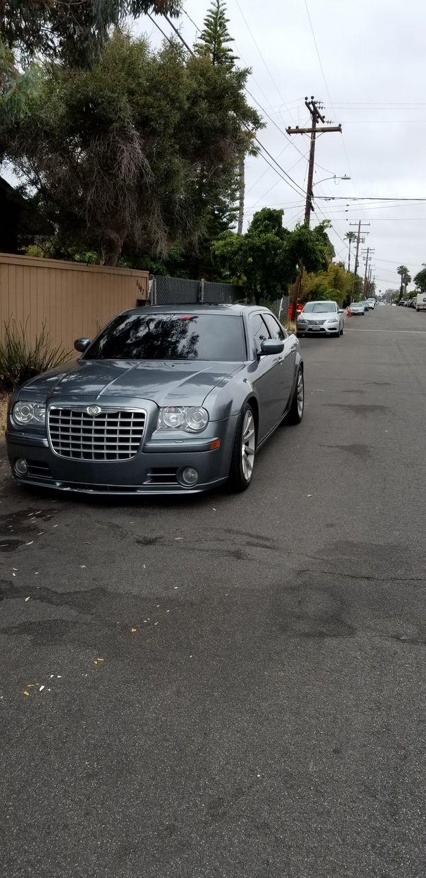 2006 Chrysler 300 SRT-8 | Fallbrook, CA, Silver Steel Metallic Clearcoat (Silver), Rear Wheel
