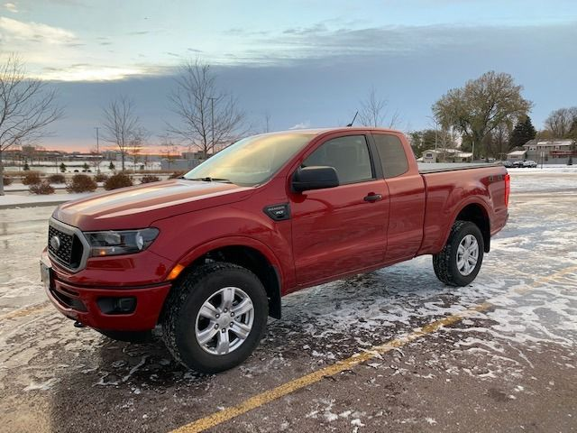 2020 Ford Ranger XLT | Sioux Falls, SD, Race Red (Red & Orange), 4X4