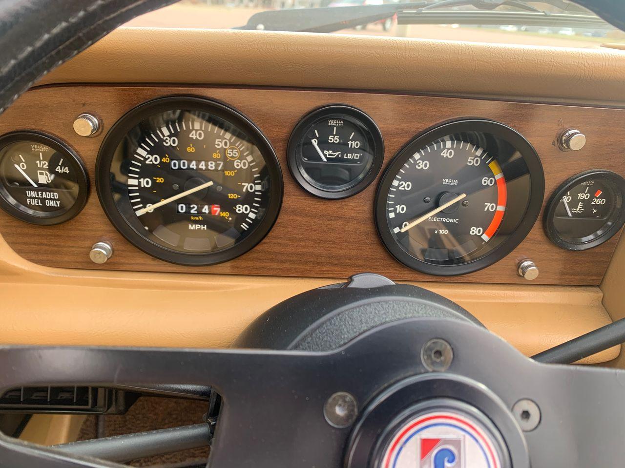 1984 Pininfarina Azzurra Spider 2000   Sioux Falls, SD, Red & Orange, Rear Wheel