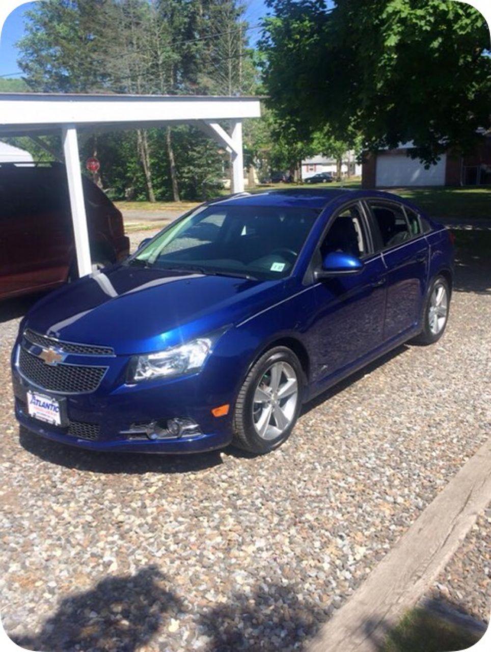 2012 Chevrolet Cruze LT | Tuckerton, NJ, Blue Granite Metallic (Blue), Front Wheel