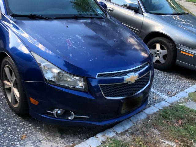 2012 Chevrolet Cruze LT, Blue Granite Metallic (Blue), Front Wheel