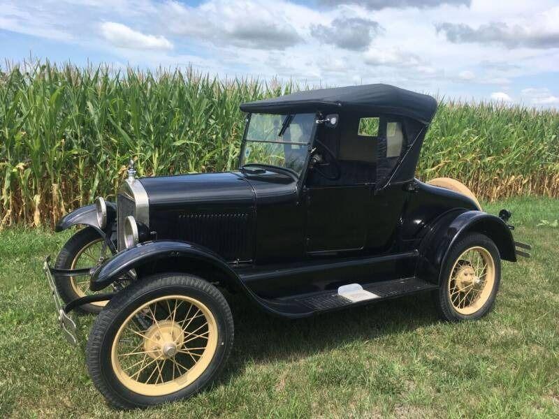 1926 (Model T) | Sioux Falls, SD, Black, Rear Wheel
