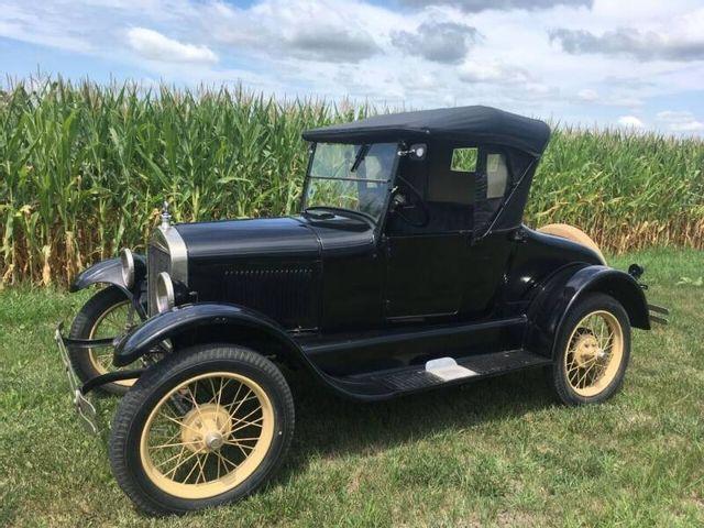 1926 (Model T), Black, Rear Wheel