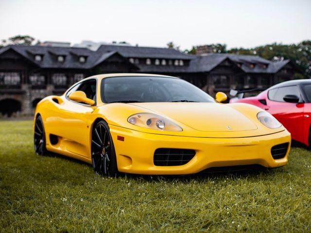 2002 Ferrari 360 Modena Base, Giallo Modena (Yellow), Rear Wheel