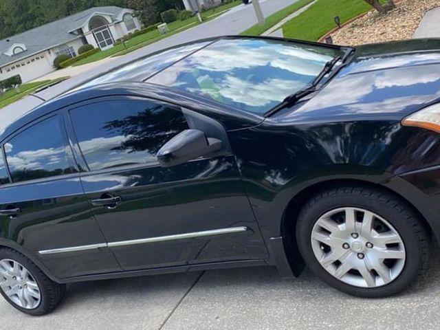 2011 Nissan Sentra, Super Black (Black), Front Wheel
