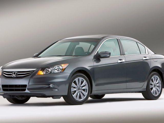 2012 Honda Accord, Polished Metal Metallic (Gray), Front Wheel