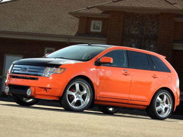 2008 Ford Edge SEL, Blazing Copper Clearcoat Metallic (Red & Orange), All Wheel