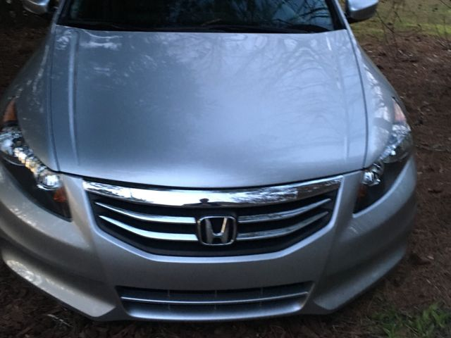 2012 Honda Accord EX, Alabaster Silver Metallic (Silver), Front Wheel