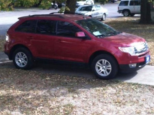 2008 Ford Edge SE, Redfire Clearcoat Metallic (Red & Orange), All Wheel